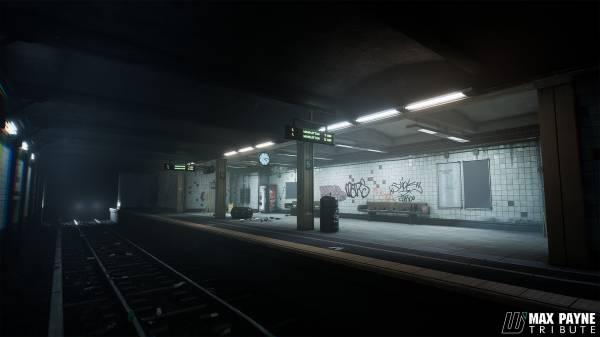Max Payne - как бы выглядел ремейк культовой игры Remedy на Unreal Engine 4