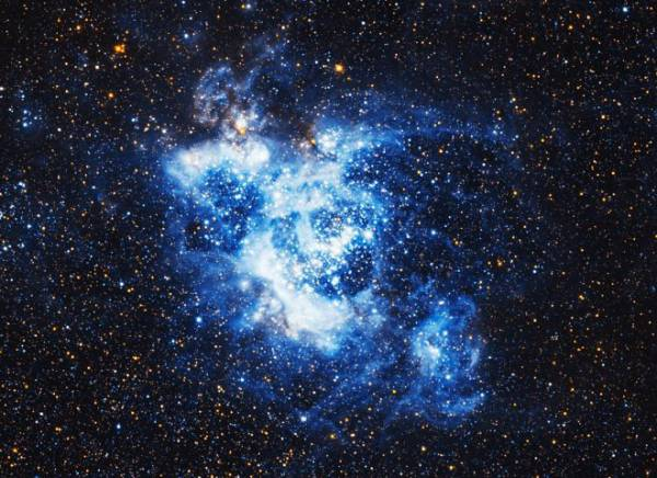 Телескоп Хаббл сделал снимок галактики Треугольника с фантастическим разрешением 665 миллионов пикселей