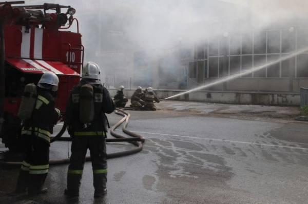 После пожара в бизнес-центре Перми возбудили уголовное дело