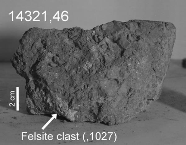 Самый древний камень Земли обнаружен... на Луне