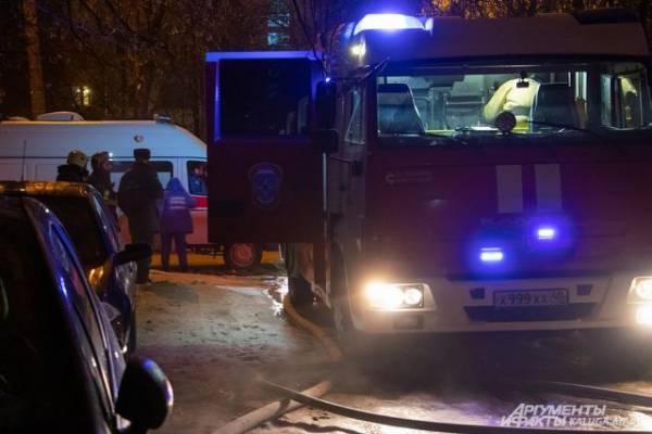 Один человек погиб в результате пожара в центре Москвы