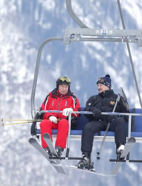 Путин и Лукашенко могут, наконец, сыграть в хоккей в Сочи