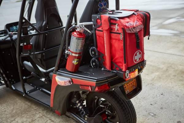 Пожарные США начинают испытания спасательных трайков