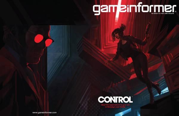Control от Remedy украсила обложку нового номера журнала GameInformer