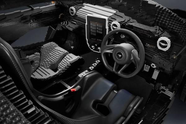 Модель спорткара McLaren Senna из Lego оказалась на 500 кг тяжелее оригинала
