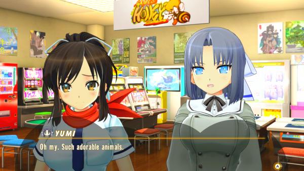 Senran Kagura: Peach Ball про девушек с большой грудью предложит игрокам погонять шары