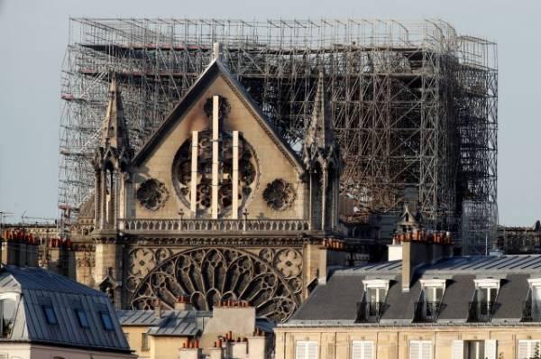 Полиция Парижа озвучила вероятную причину пожара в Нотр-Даме