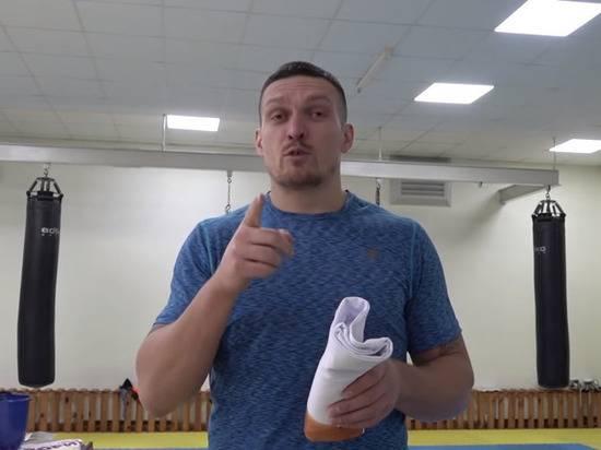 Украинский боксер Усик посоветовал «простить и посадить» сторонников Порошенко