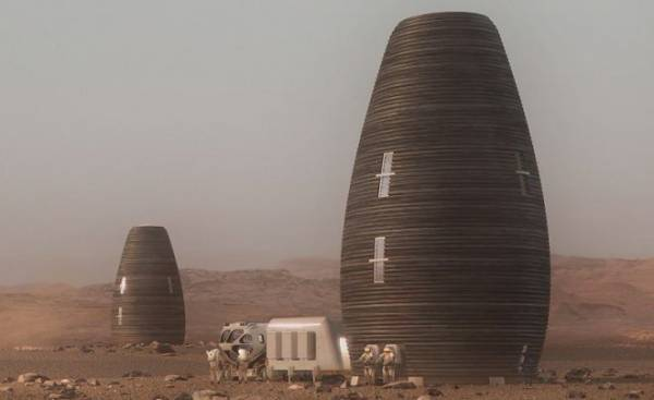 NASA представило победителя конкурса лучших проектов марсианского жилья