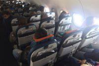 Пассажир устроил дебош на борту самолета в аэропорту Новосибирска