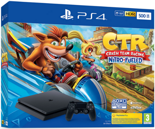 Sony анонсировала бандлы PlayStation 4 c Crash Team Racing: Nitro-Fueled