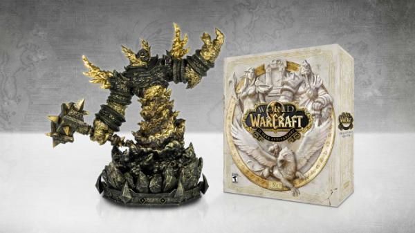 World of Warcraft Classiс обзавелась датой релиза, Blizzard анонсировала юбилейную коллекционку с фигуркой Рагнароса