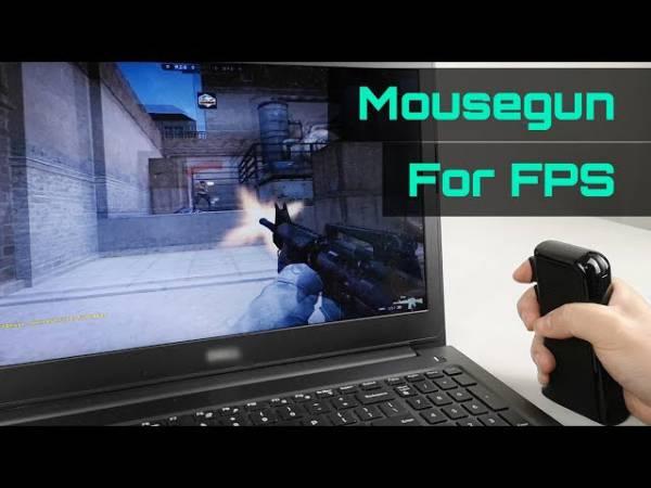 Мышка-пистолет Mousegun придаст компьютерным шутерам новый вкус