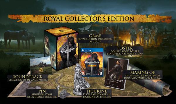 Kingdom Come: Deliverance - скоро игроки смогут купить королевское лимитированное издание ролевой игры от Даниэля Вавры