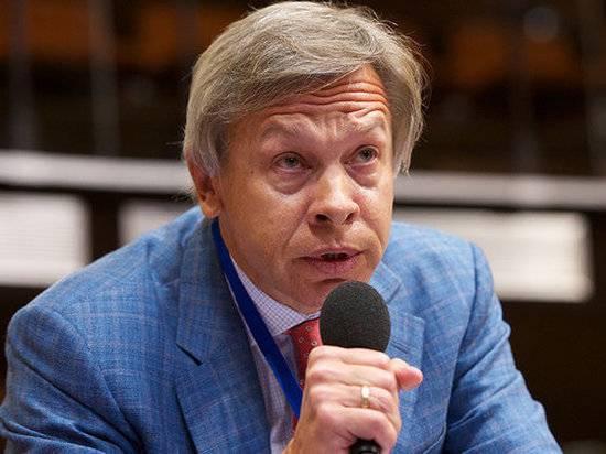 Пушков прокомментировал идею Зеленского о референдуме по переговорам с РФ