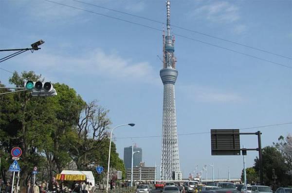 Недалеко от Токио зафиксировано землетрясение магнитудой 5,1