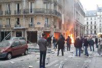 Появилось видео с подозреваемым во взрыве в Лионе