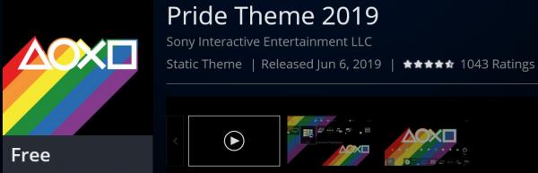 Sony стала спонсором гей-парада в Лондоне, представила ЛГБТ-менчендайз и бесплатную радужную тему для PlayStation 4
