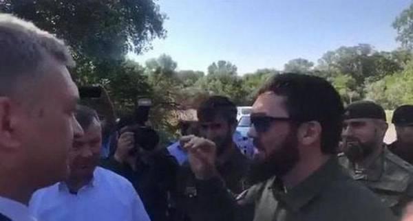 Дагестанцы выступили против установки чеченских дорожных указателей