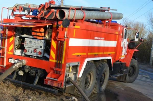 Пожарный поезд подключился к тушению крупного пожара в Красноярском крае