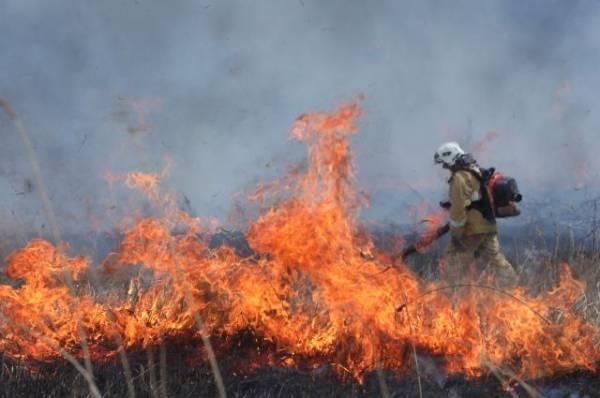 В Якутии введен режим ЧС из-за пожара в Верхоянском районе