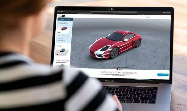 Сервис Second Skin позволит владельцам Porsche менять дизайн своего автомобиля