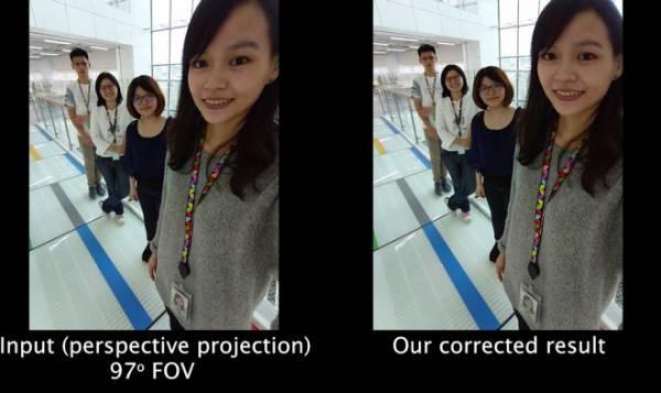 Алгоритм Google устранит искажения лиц на широкоугольных фотографиях