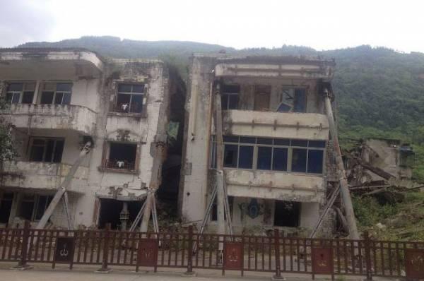 19 человек пострадали при землетрясении в китайской провинции Сычуань
