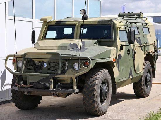 Броневик «Тигр-2» получил более мощную защиту и новые двигатели