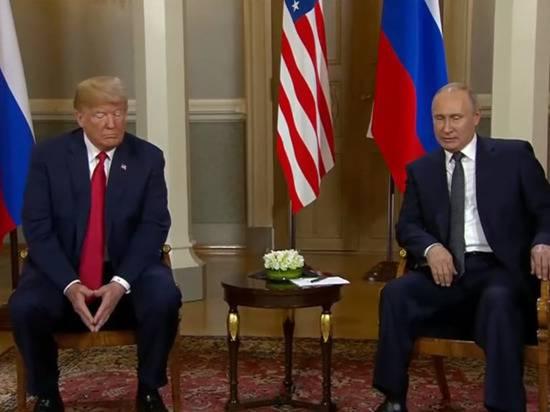 Песков рассказал о планируемой встрече Путина и Трампа