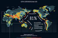 В Таджикистане произошло землетрясение магнитудой 5,2