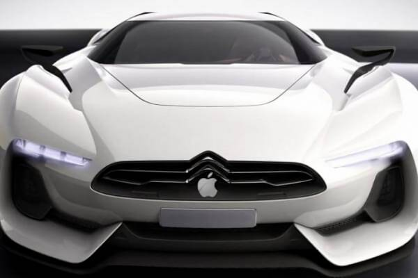 Для чего беспилотному автомобилю Apple выдвижной бампер