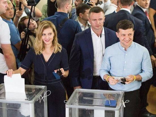 В победу Зеленского на выборах в Раду вмешались «темные лошадки»