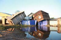 В Приамурье из-за ливней подтопило более 400 придомовых территорий