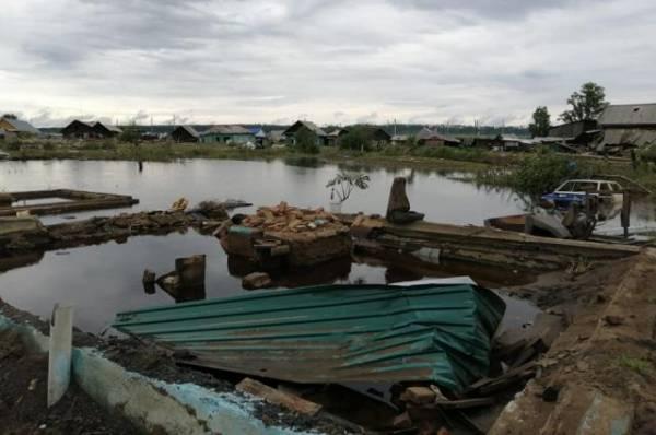 Подъем воды в реке Ии в Тулуне остановился