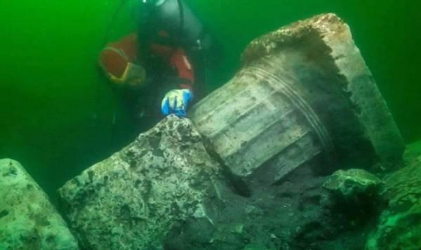Дайверы нашли в «Египетской Атлантиде» руины древнего храма