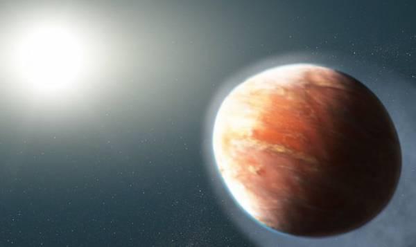 Телескоп Hubble нашел странную раскаленную планету в форме яйца
