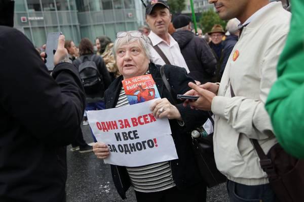 В Кремле заговорили о судах, комментируя действия полиции на митингах