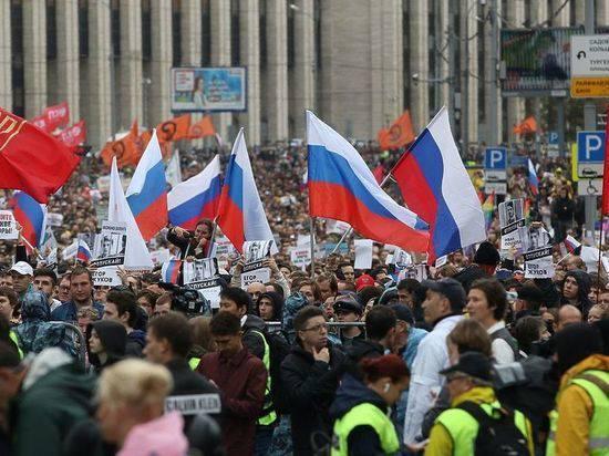 Власти Москвы согласовали митинг 25 августа без шествия