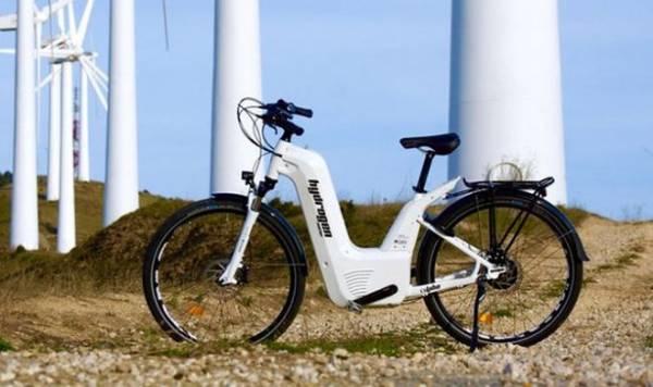 Первый в мире велосипед на топливных элементах проезжает 150 км на одной заправке