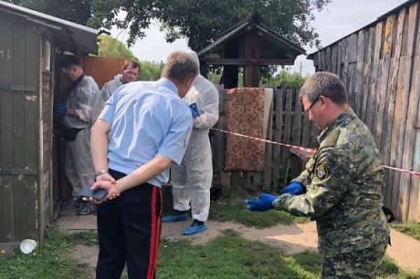 СКР обнародовал видео из дома, где была убита семья из пяти человек