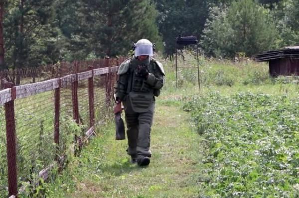 Под Ачинском обнаружили 14 снарядов после взрывов на военном складе