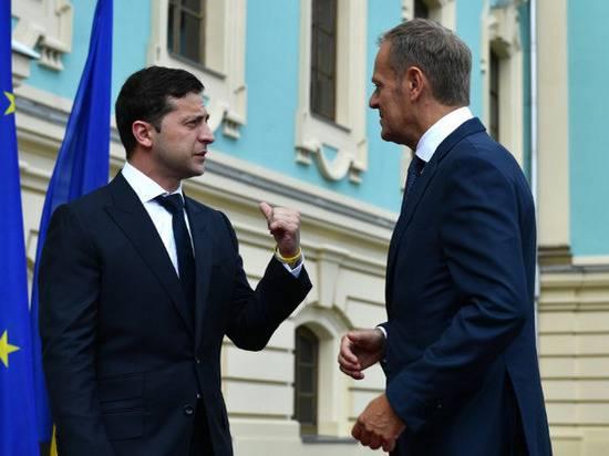 Зеленский обсудил с Туском неприемлемость возвращения России в G7
