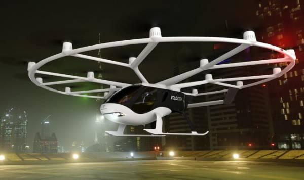 Компания Volocopter представила самую мощную версию своего летающего такси