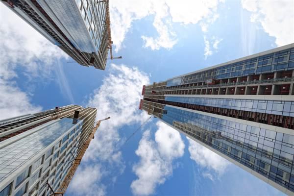 В жилом комплексе НЕБО от Capital Group полностью завершились монолитные работы