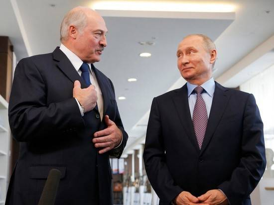 Путин поздравил Лукашенко с 65-летним юбилеем