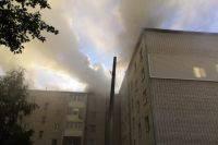 В Нижегородской области горит склад ГСМ на площади 5 тысяч кв. метров