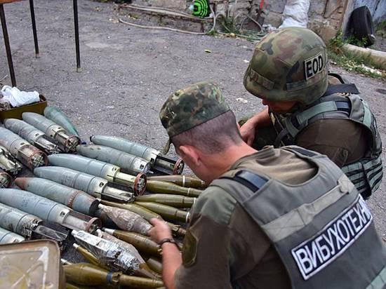 Украинские добровольцы на Донбассе сдали 10 тонн боеприпасов: что происходит
