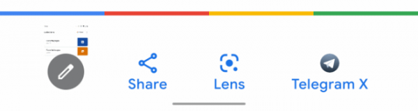 В новой версии Google будет поиск по скриншоту