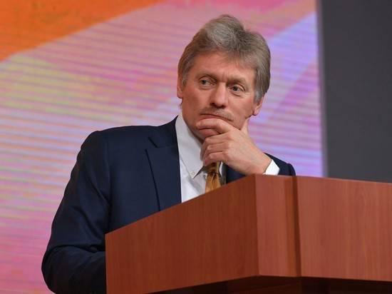 """В Кремле раскритиковали требования Киева по """"формуле Штайнмайера"""""""